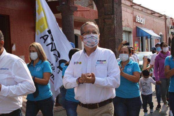 Gracias ciudadanos, sectores productivos y de nuestro dirigente Marko Cortés: Enrique Godínez