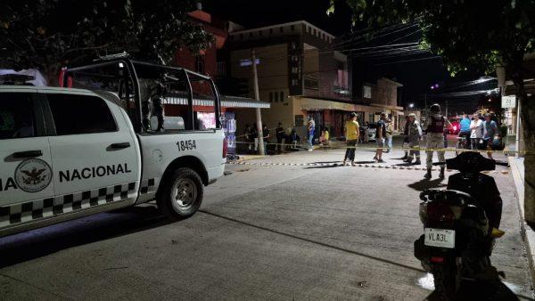A unos metros de la base de la GN hombre es asesinado a balazos