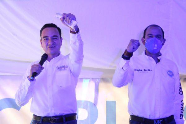 Cerramos con broche de oro esta campaña; primer lugar en las encuestas, en Zamora ya se respira el cambio: Carlos Soto