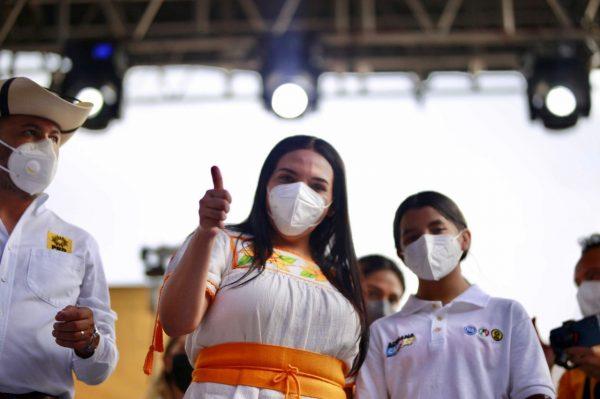Adriana Campos, virtual diputada federal electa en el distrito 07 de Zacapu