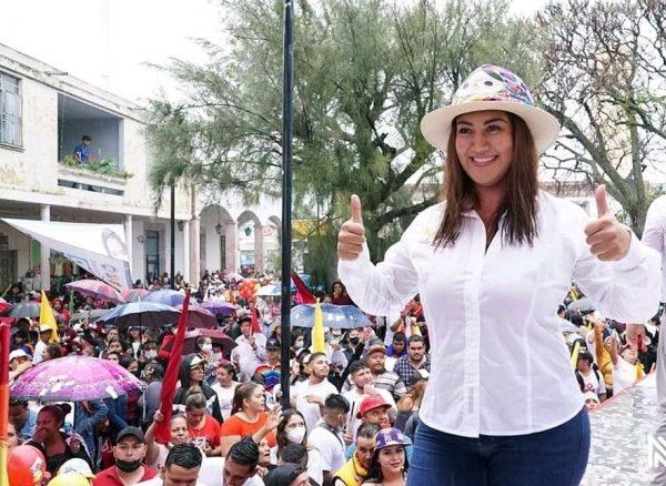 Moni Valdez, virtual diputada local electa en el distrito 07
