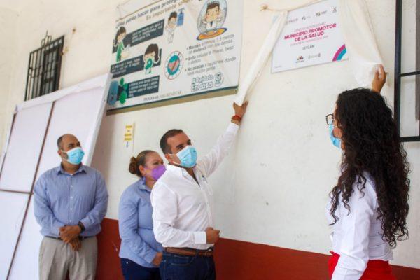 Certifican a Ixtlán como municipio promotor de la salud