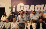 Carlos Herrera es el gobernador electo, vamos a defender los resultados: Oscar Escobar