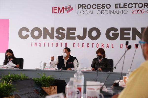 Inició IEM sesión de cómputos en 116 consejos distritales y municipales