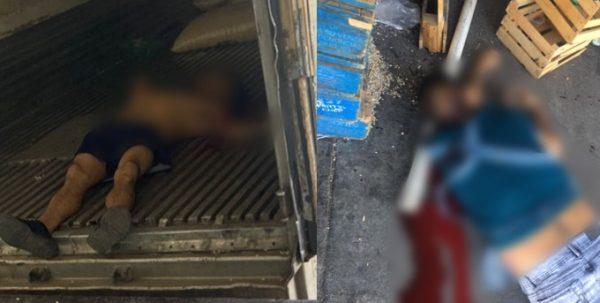 Matan a dos cargadores en el Mercado de Abastos de Canindo