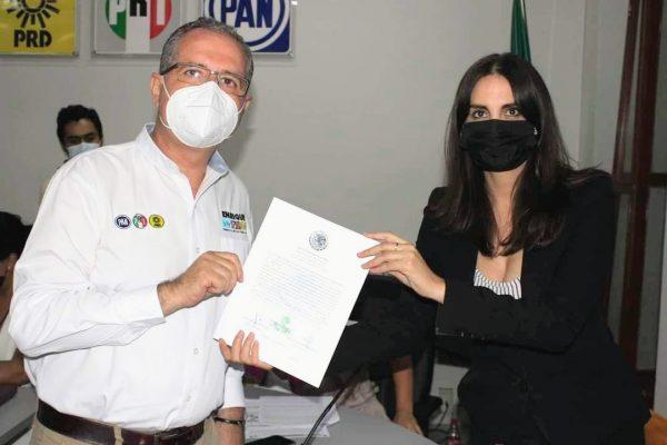 Enrique Godínez ya es diputado federal electo del 05 distrito
