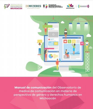 Anuncian encuentros para conocer el Manual de Comunicación en materia de Perspectiva de Género y Derechos Humanos