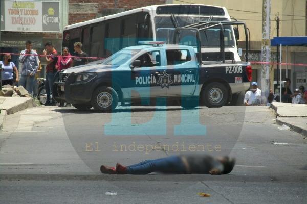 Otro asesinato mas en la colonia El Porvenir de Zamora