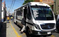 Aún con bandera blanca COCOTRA, mantiene medidas anticovid en transporte público