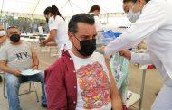 Cierran vacunación para personas de 50 a 59 años en Zamora