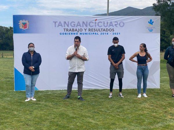Fomento al deporte es la base para una buena sociedad: Rafa Melgoza