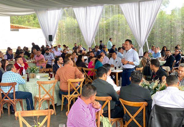 Nuestra fortaleza será la unión que logramos: Carlos Herrera