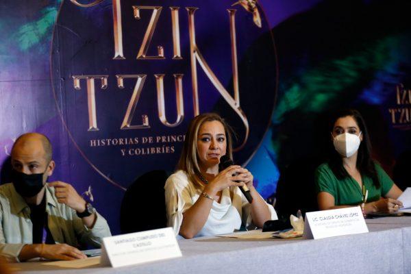 Tzintzun, espectáculo de talla mundial en el Teatro Matamoros