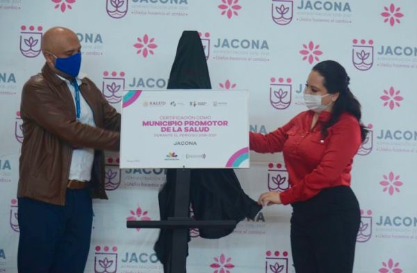 Jacona es ejemplo de trabajo preventivo contra Covid-19 y Dengue