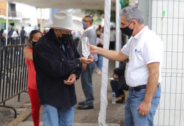 Activos en Michoacán filtros sanitarios contra COVID-19