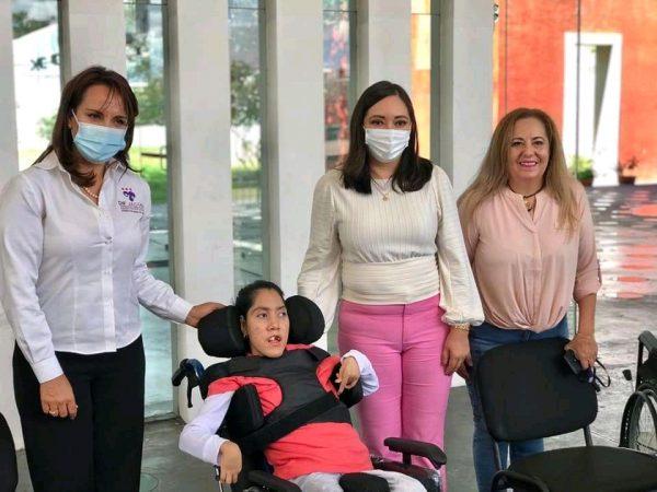 Necesidades de discapacitados son prioridad permanente; no política: Noemí Ramírez