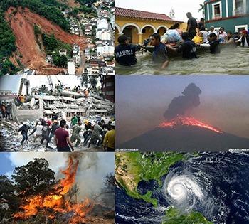 Un desastre, atención a afectados por desastres naturales