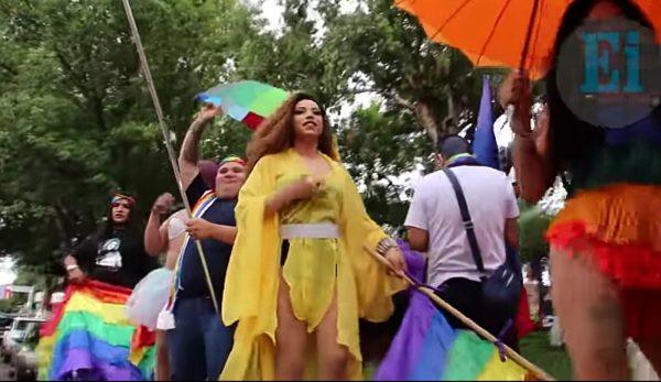 Zamora se pinta de colores, marchan a favor de la diversidad sexual