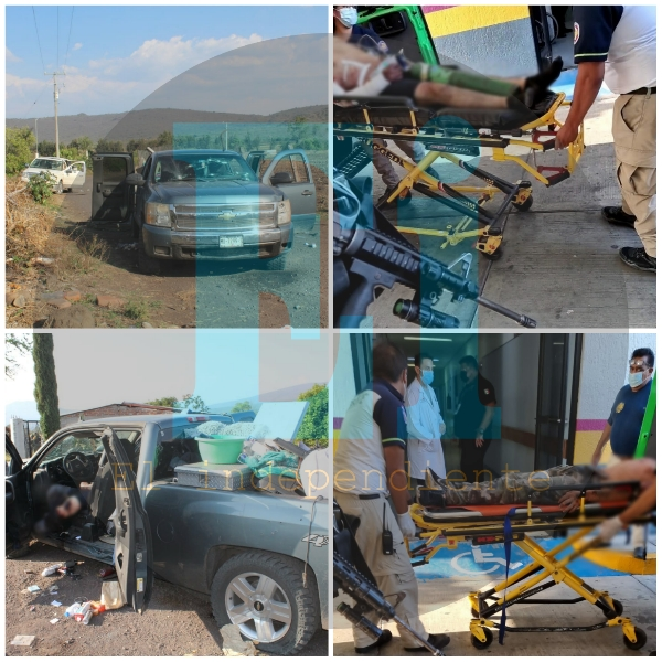 6 pistoleros muertos y 4 detenidos, saldo de enfrentamiento Zamora