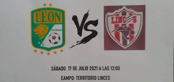 Club Linces se medirá en categoría sub – 13 al club León