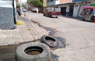 Persiste el robo de rejillas en zona urbana; ponen en peligro a personas