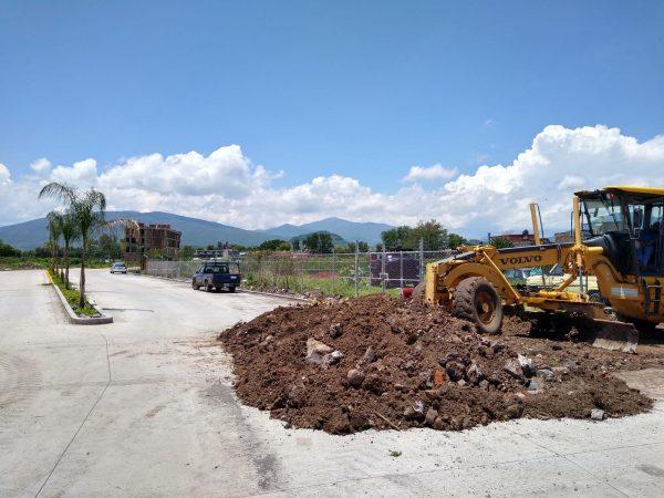 Lentos los trabajos para concluir la ampliación de 5 de mayo a Gómez Morín