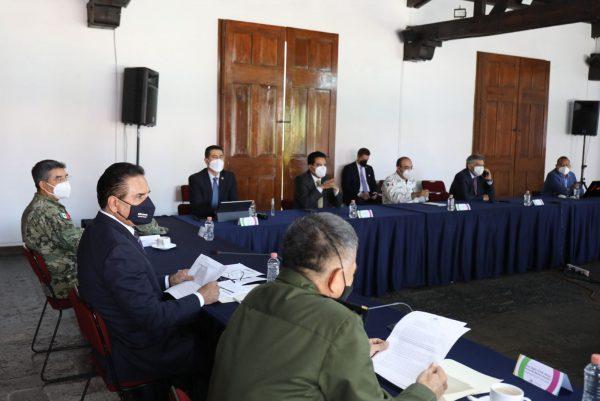Exhorta Silvano Aureoles a Federación y municipios a estrechar coordinación para combatir delincuencia