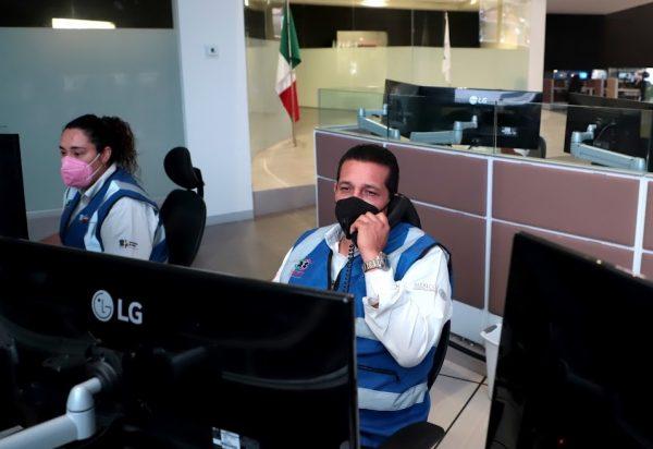 Atendidos 11 mil 997 michoacanos a través de las líneas 800 y 911