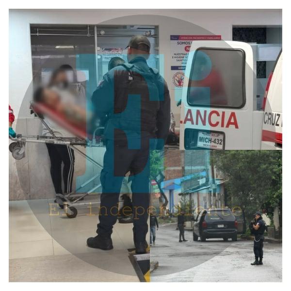 Conductor de camioneta es baleado en las calles de Jacona