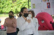 Con gran éxito se efectuó la Feria de la Salud en Jacona