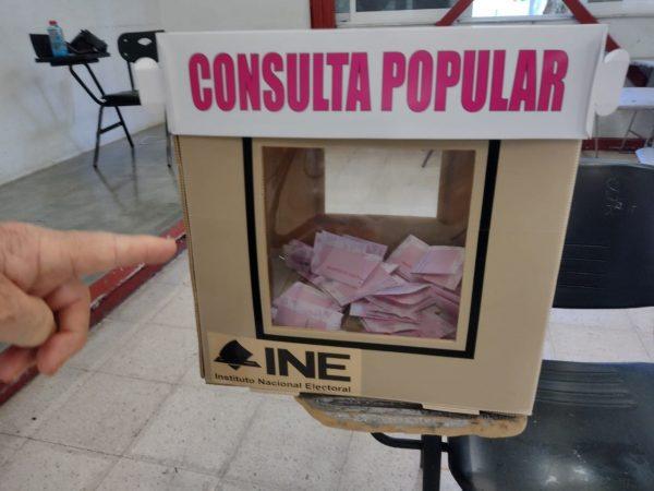 En distrito 05 de Zamora participación en consulta popular no llegó al 5%