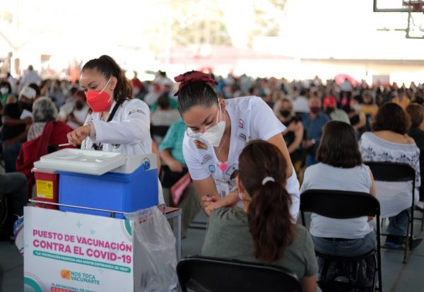 Aplicarán en Zamora primera dotación de 22 mil vacunas anticovid para personas de 30 a 39 años