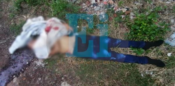 Encuentran cadáver baleado en la colonia Miguel Regalado