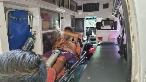 Jovén es herido de un balazo en el hombro en Jacona
