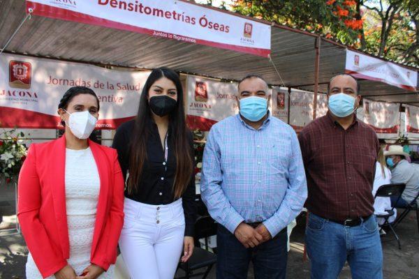 Isidoro Mosqueda inauguró las Jornadas de Salud Preventiva