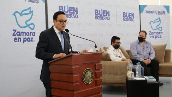 """""""Tener instituciones sólidas construye la paz, necesario dar certidumbre"""": Carlos Soto"""