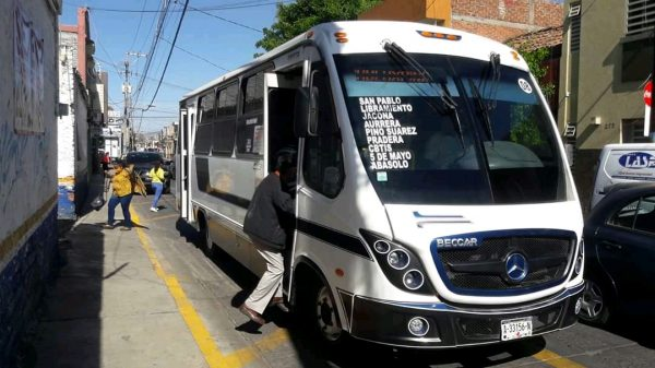 Revisarán ubicación de paradas para organizar transporte público
