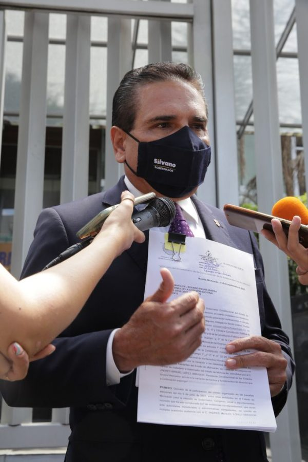 Ante CNDH, queja formal de Silvano Aureoles