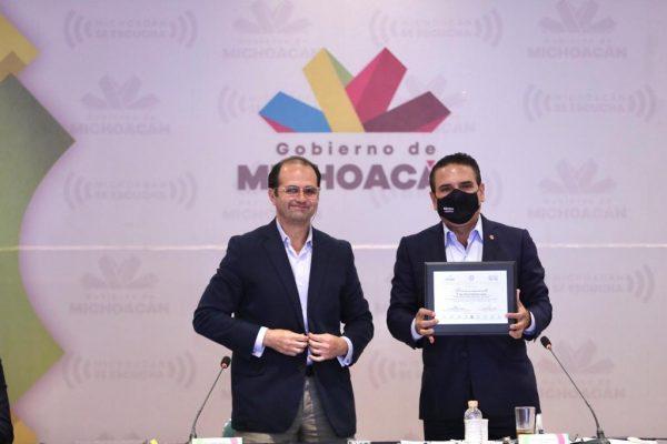Michoacán, con bases firmes para alcanzar la paz: Silvano