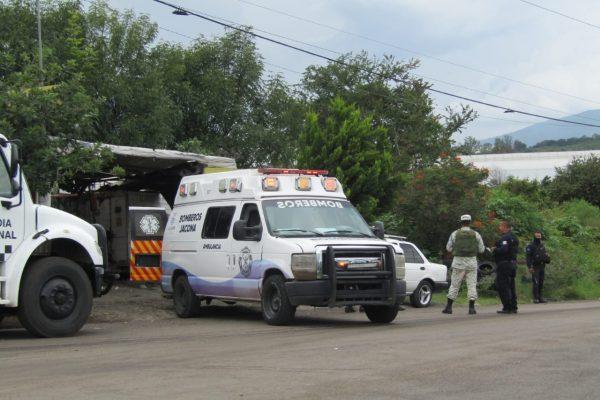 Perdió la vida hombre baleado en vulcanizadora de Jacona