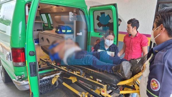 Balean a un hombre en la Generalísimo Morelos, además un niño fue alcanzado por una bala perdida