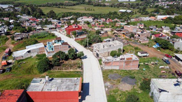 En todo Michoacán, obras de calidad para todas y todos