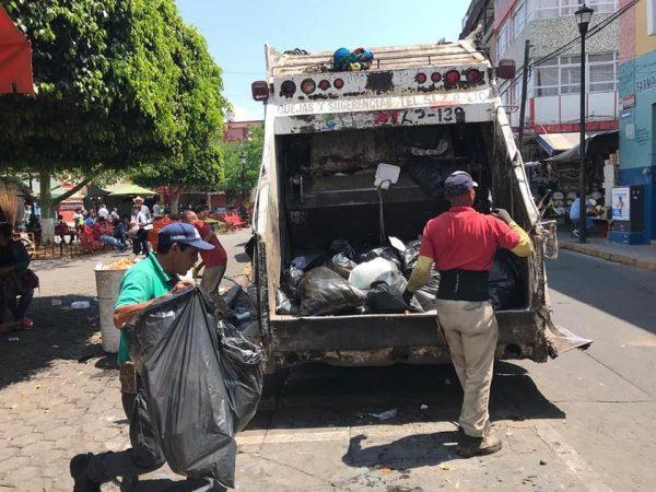 Implementarán 3 horarios para recoger la basura en la ciudad
