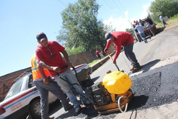 Acciones de bacheo en Zamora serán permanentes