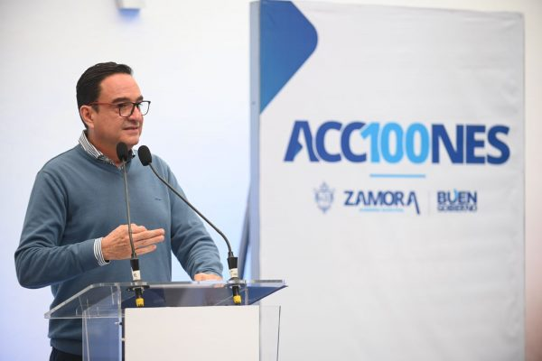 """Pondremos en marcha a Zamora, crisis serán oportunidades"": Carlos Soto"