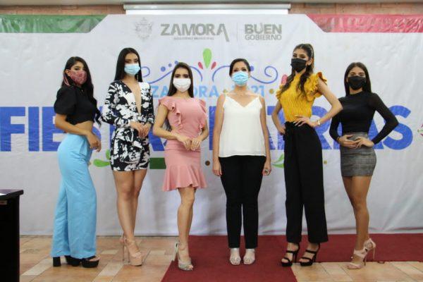 Seleccionan a 5 finalistas que pasan al Certamen de Reina de las Fiestas Patrias Zamora
