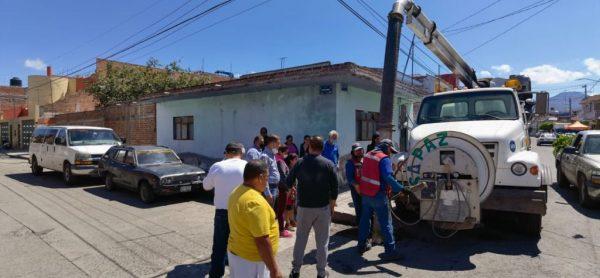 Dan rápida respuesta a demanda de los ciudadanos de la colonia Ramírez