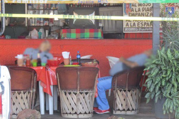 Matan a dos comensales en Mariscos Patiño de Jacona