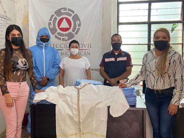Regiduría de Salud entregó equipo de protección para atención a pacientes COVID.