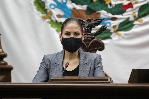 Acción Nacional defendió a michoacanos en Ley Orgánica del Estado: Ivonne Pantoja